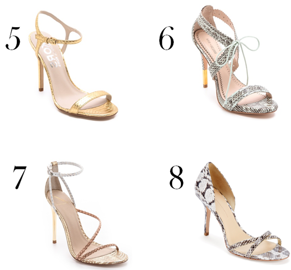 LDV Top 10: Strappy Sandals | La Dolce Vita